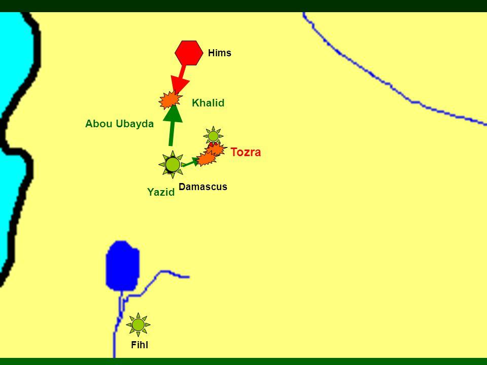Damascus Hims Fihl Abou Ubayda Yazid Tozra Khalid