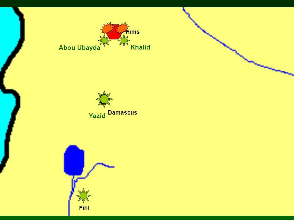 Damascus Hims Fihl Abou Ubayda Yazid Khalid