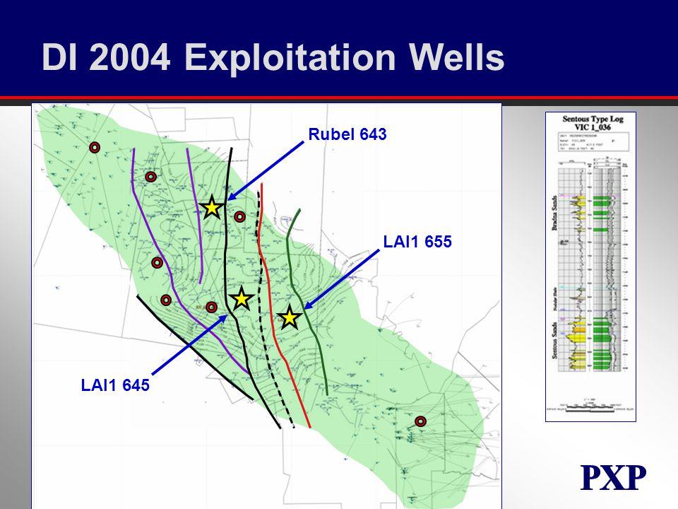 DI 2004 Exploitation Wells Rubel 643 LAI1 645 LAI1 655