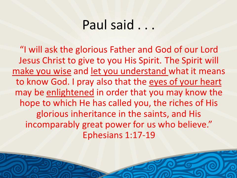 Paul said...