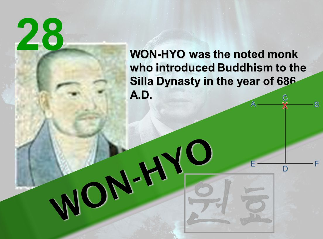 YUL-GOK is the pseudonym of a great philosopher and scholar Yi l (1536- 1584) nicknamed the Confucius of Korea The 38 movements of this pattern refer to his birthplace on 38 latitude and the diagram represents scholar .