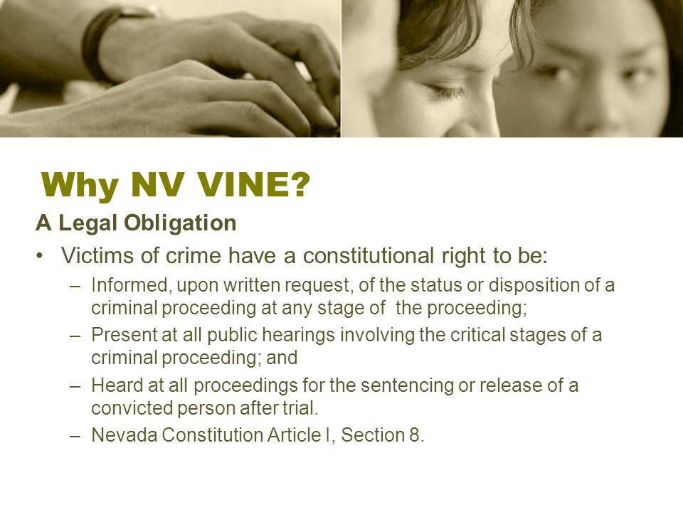 Why NV VINE.