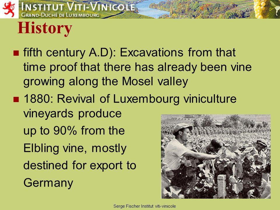Serge Fischer Institut viti-vinicole V a r i e ti e s