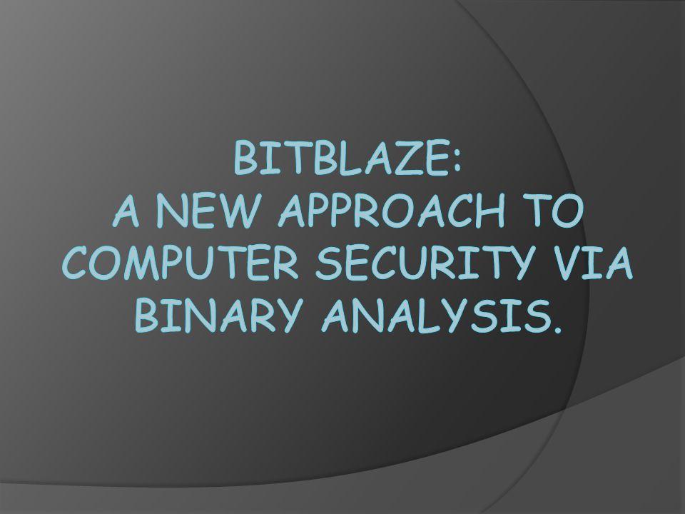 Related Work  Static Binary Analysis Platforms.