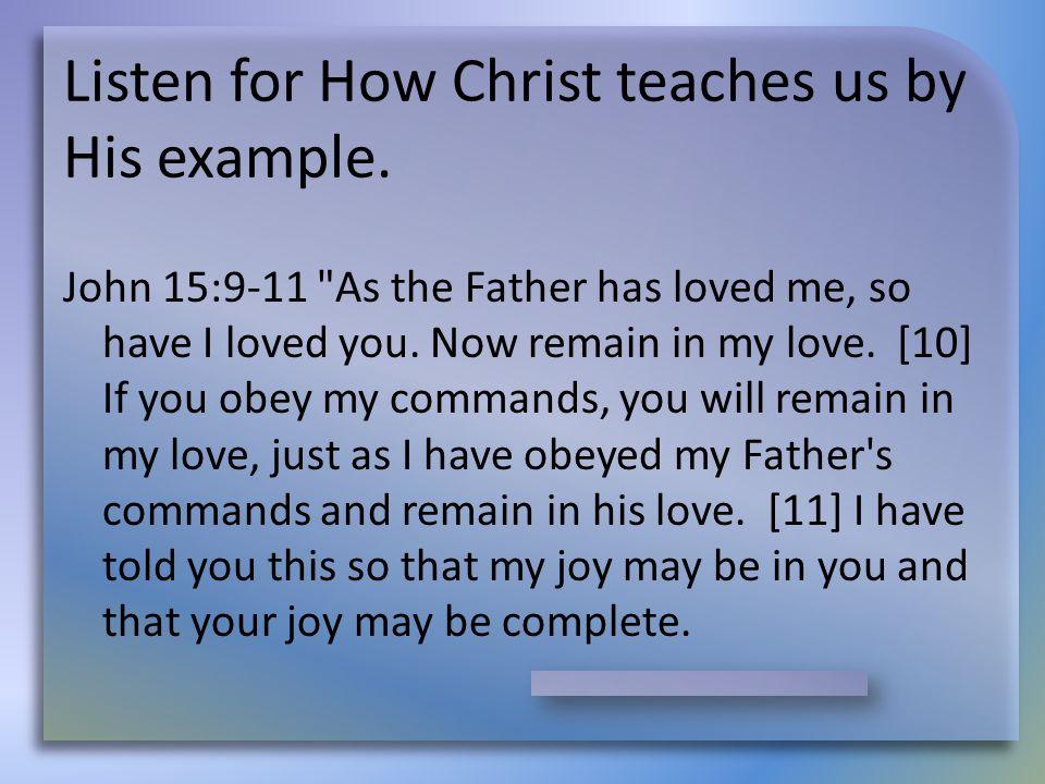 John 15:9-11