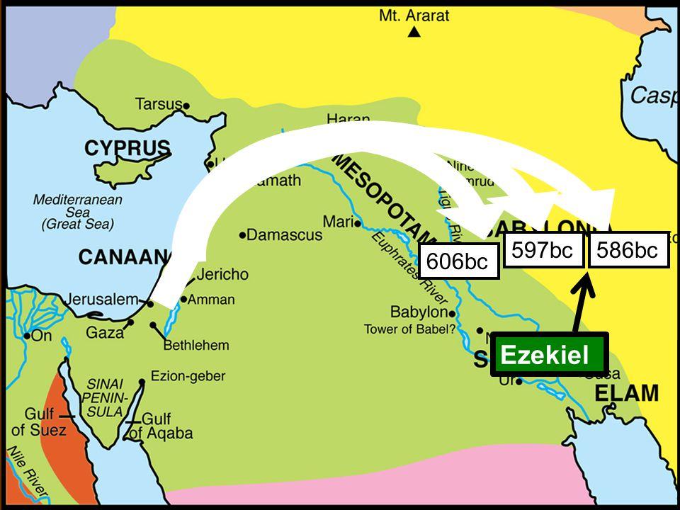 Overall Outline of Ezekiel I.Ezekiel called to serve God (1-3) II.