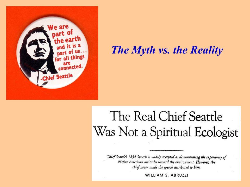 The Myth vs. the Reality