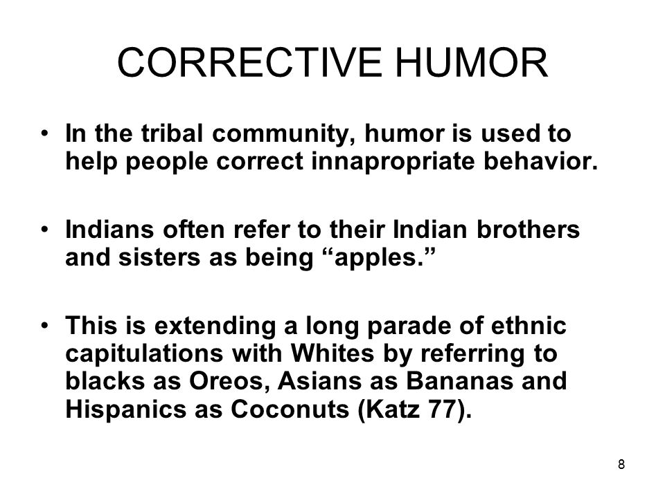 19 HOPI HUMOR In Hopi, the word for clowning is the same word as that used for making a point (Nilsen and Nilsen 27).