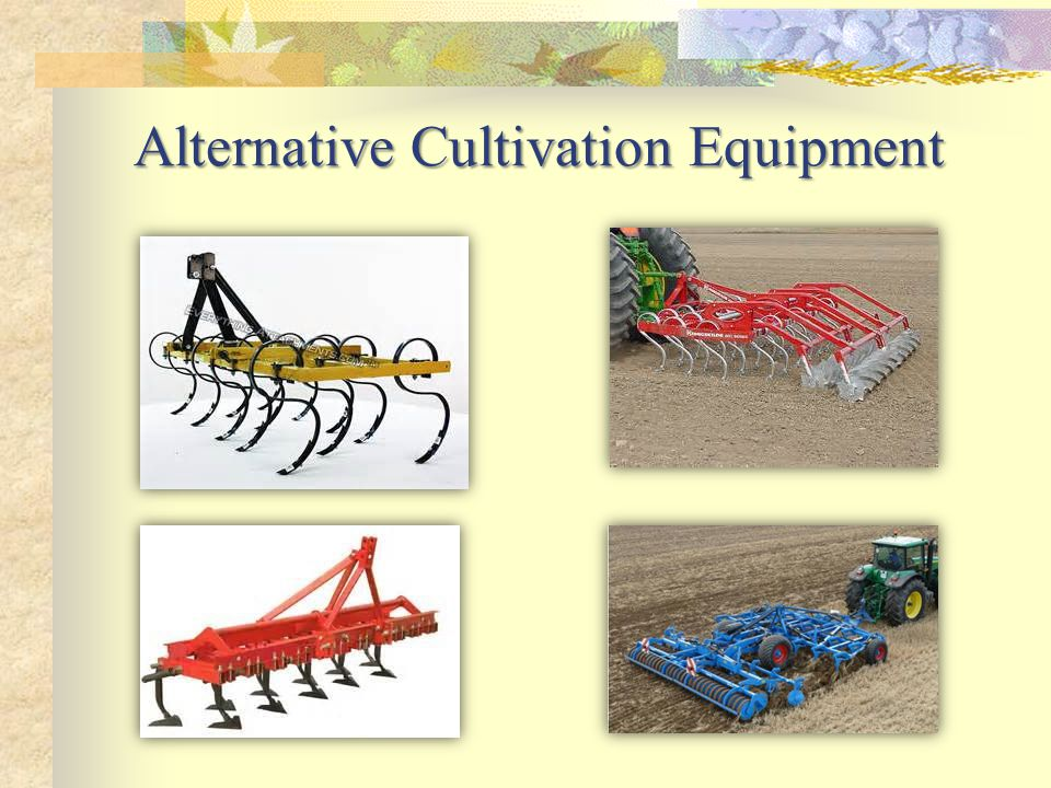 Alternative Cultivation Equipment