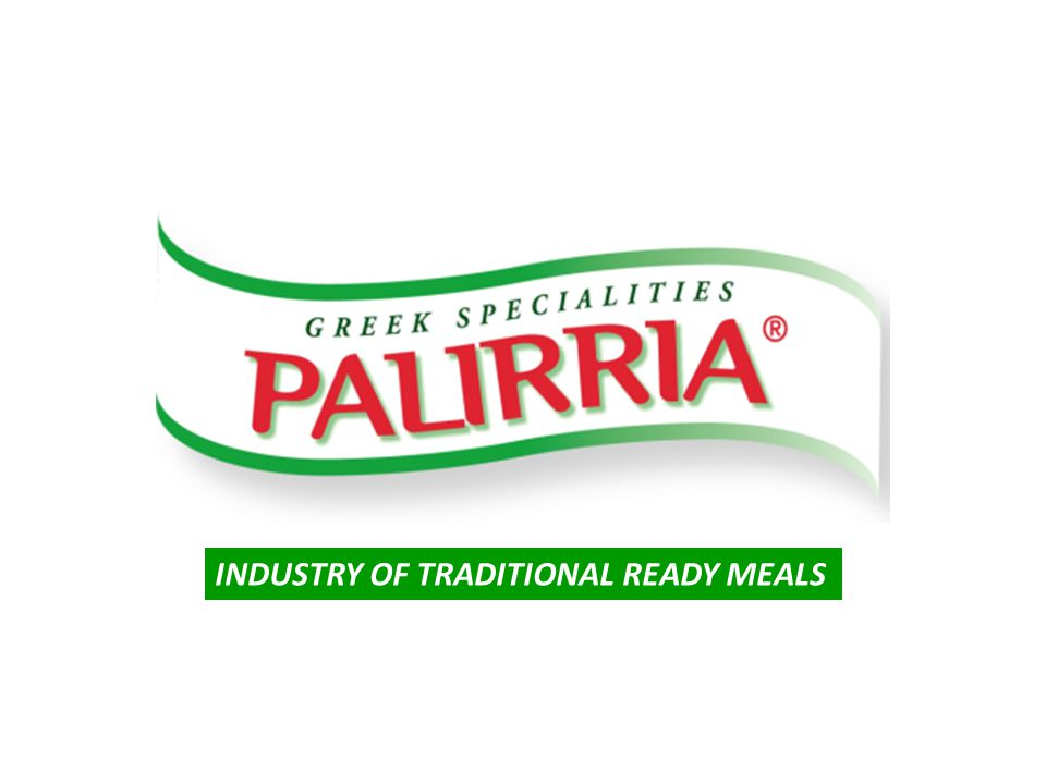 Product Range: Food Service PALIRRIA S.A.