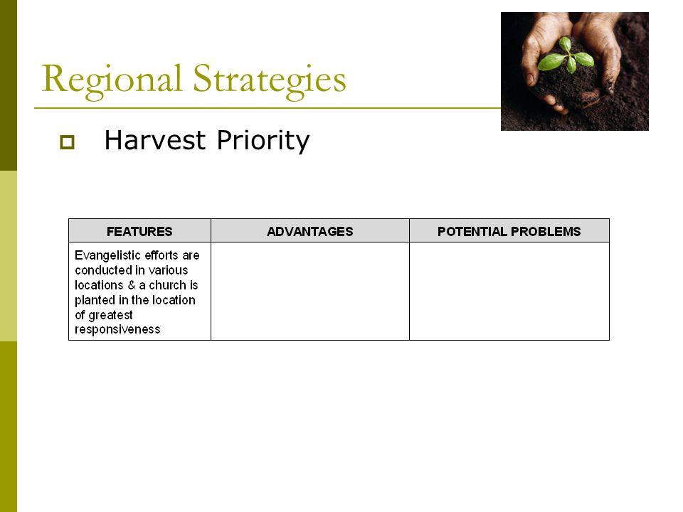 Regional Strategies