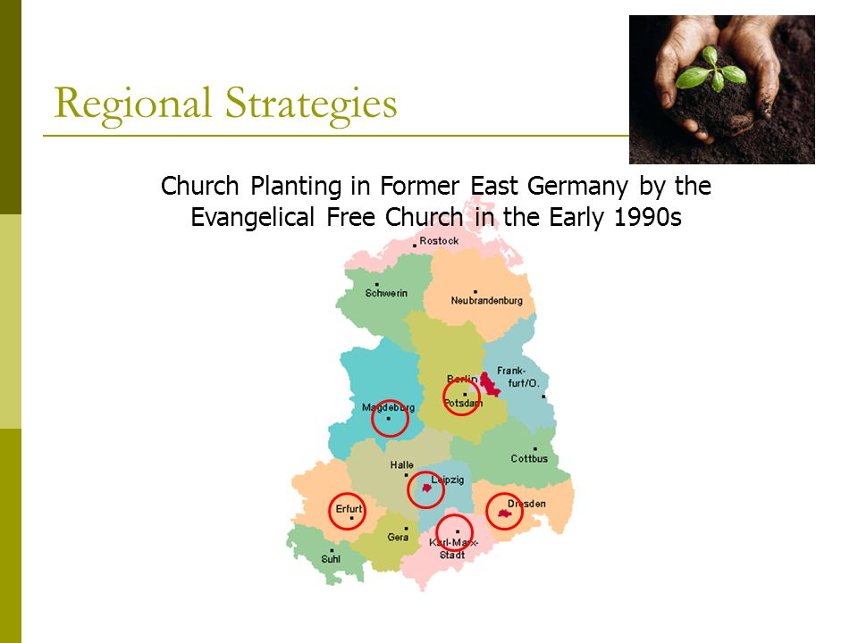 Church Planting in Former East Germany by the Evangelical Free Church in the Early 1990s