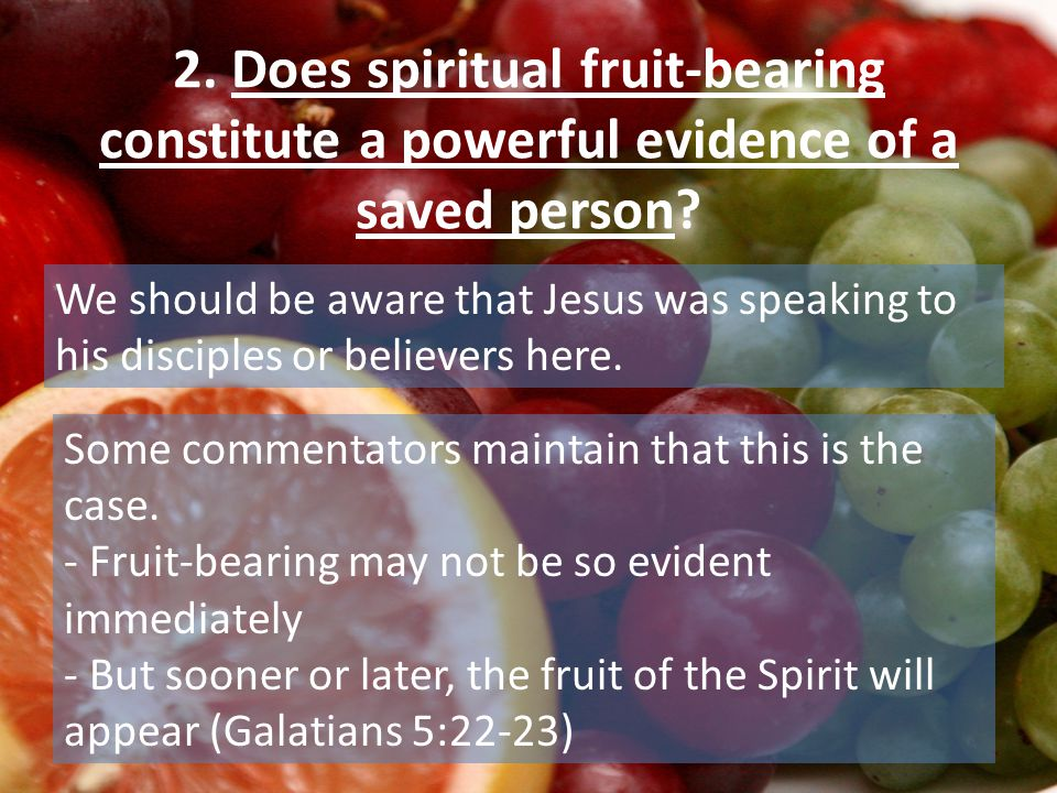 B) HOW DOES SPIRITUAL GROWTH TAKE PLACE.We shall examine several questions here: 1.