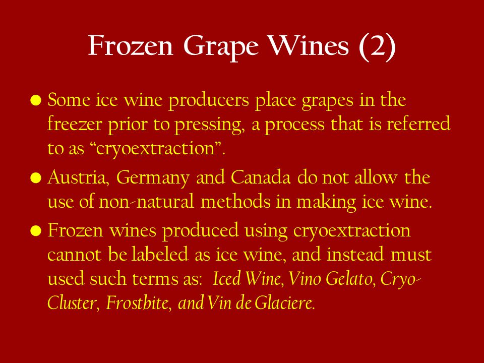 Wine Styles for Baked Goods (2) Pastries: Pastries: any of the dessert wines discussed.