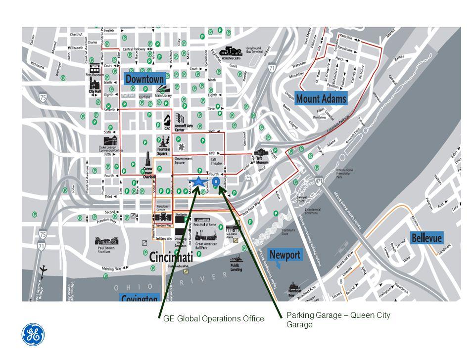 GE Global Operations Office Parking Garage – Queen City Garage