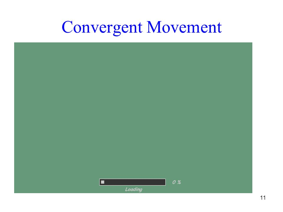 Convergent Movement 11