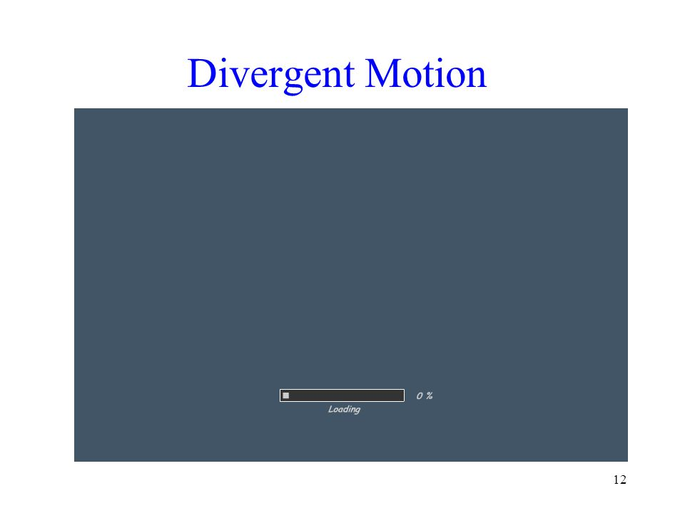 Divergent Motion 12