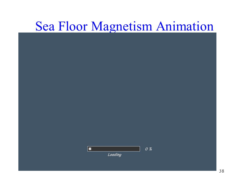 38 Sea Floor Magnetism Animation