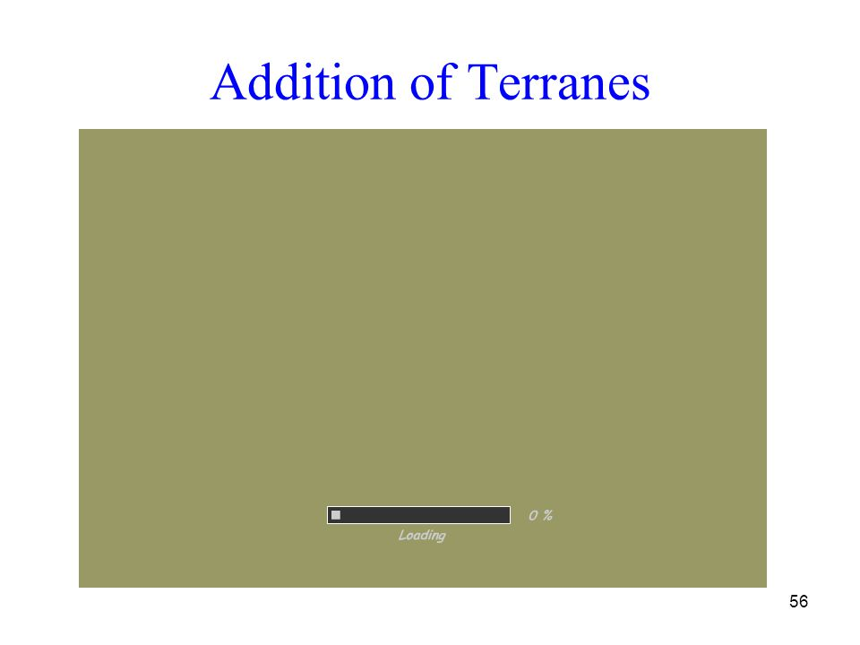 Addition of Terranes 56