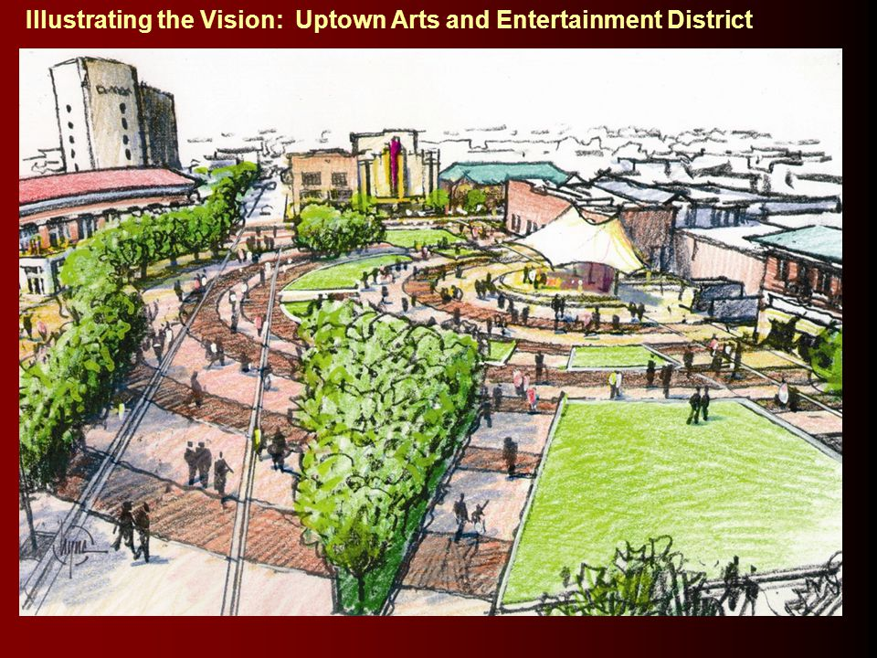 Illustrating the Vision: Uptown Arts and Entertainment District