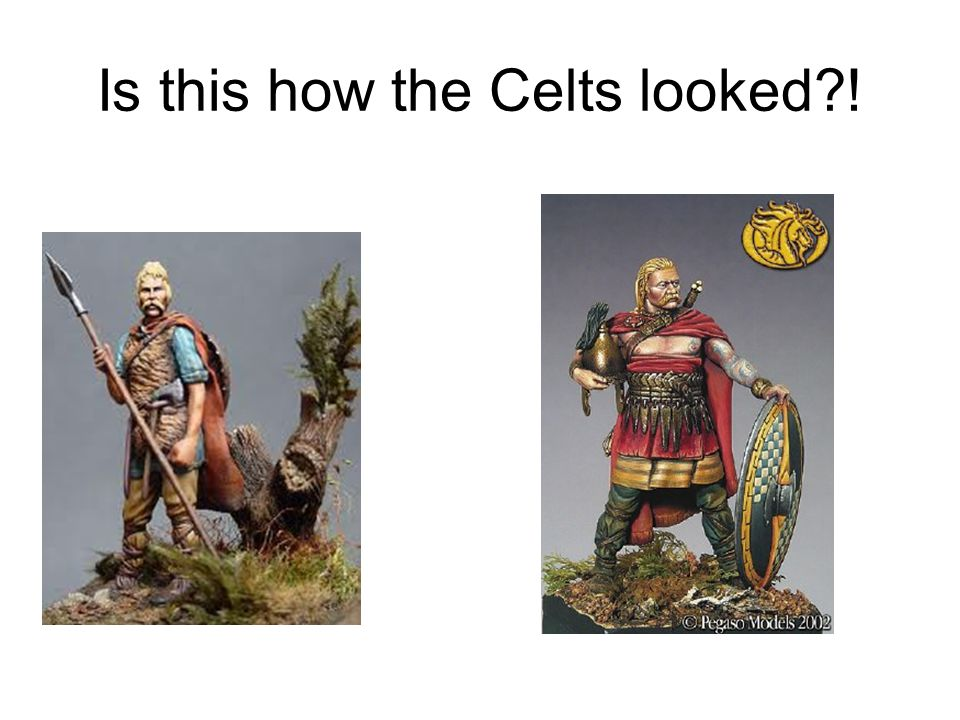 Is this how the Celts looked !