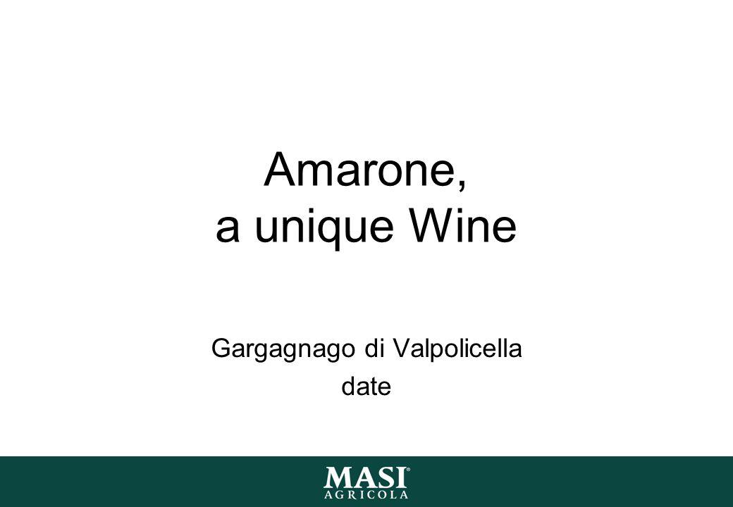 Amarone, a unique Wine Gargagnago di Valpolicella date