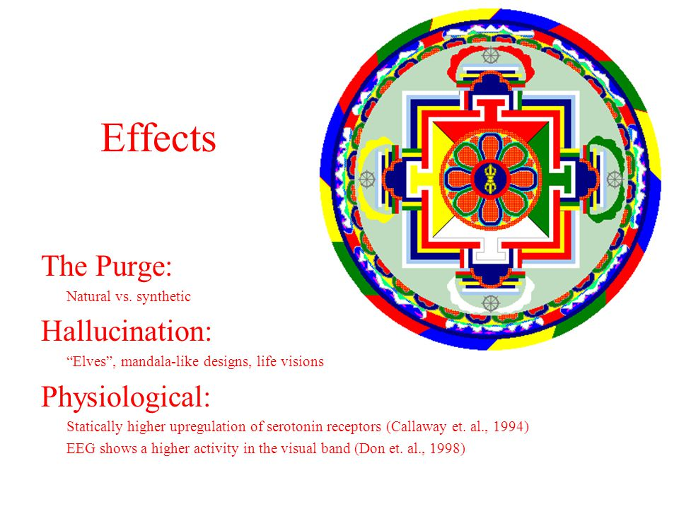 Effects The Purge: Natural vs.