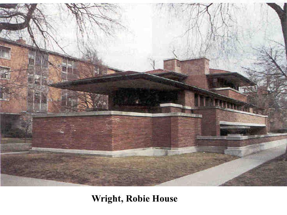 Wright, Robie House