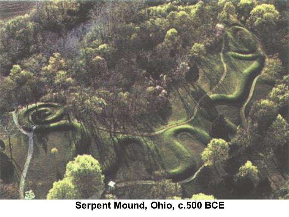 Serpent Mound, Ohio, c.500 BCE