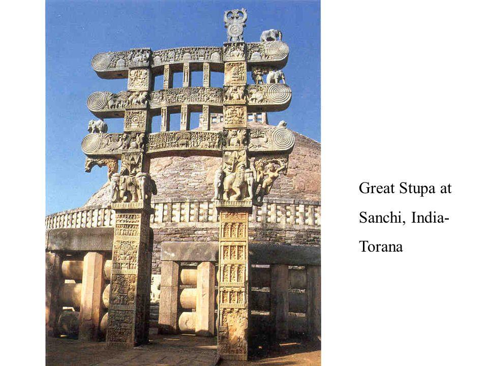 Great Stupa at Sanchi, India- Torana