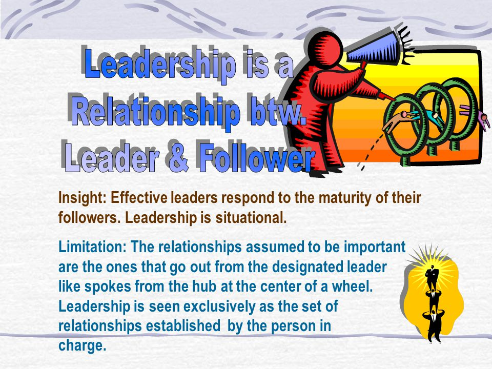 Insight: Effective leaders have personal qualities that contribute to their success in the role. Limitation: While personality traits are important, r