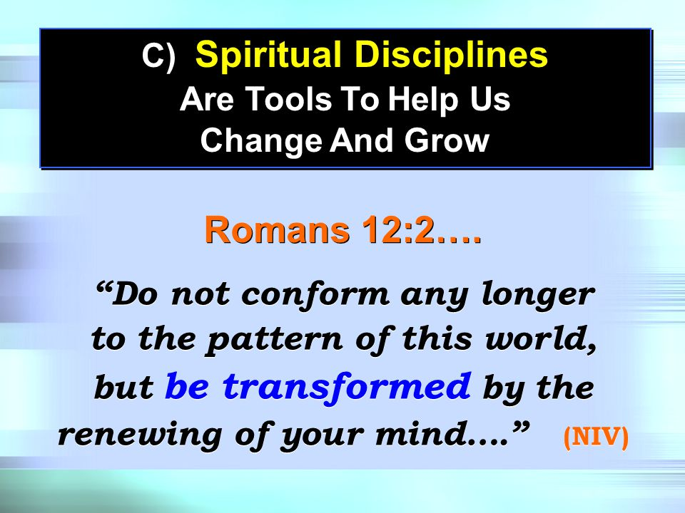 B) Spiritual Disciplines Aren't A Measure Of Your Spirituality B) Spiritual Disciplines Aren't A Measure Of Your Spirituality Luke 18:9-12 Praying or reading your Bible doesn't automatically make you more spiritual.