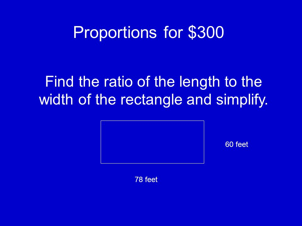 Proportions for $200