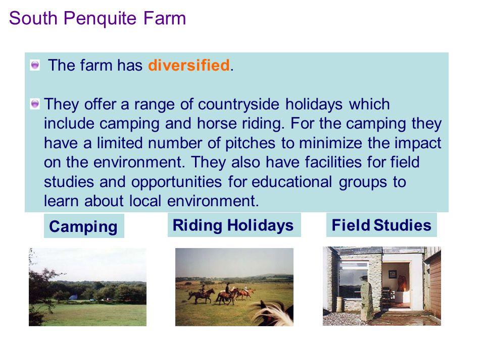 The farm has diversified.