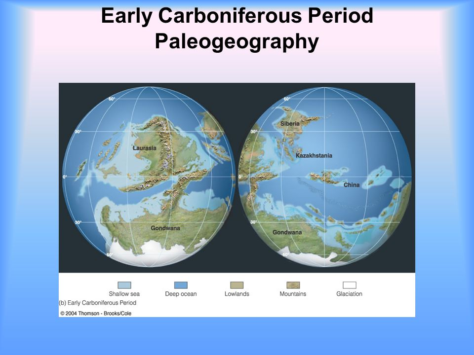 Early Carboniferous Period Paleogeography
