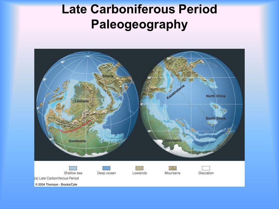 Late Carboniferous Period Paleogeography
