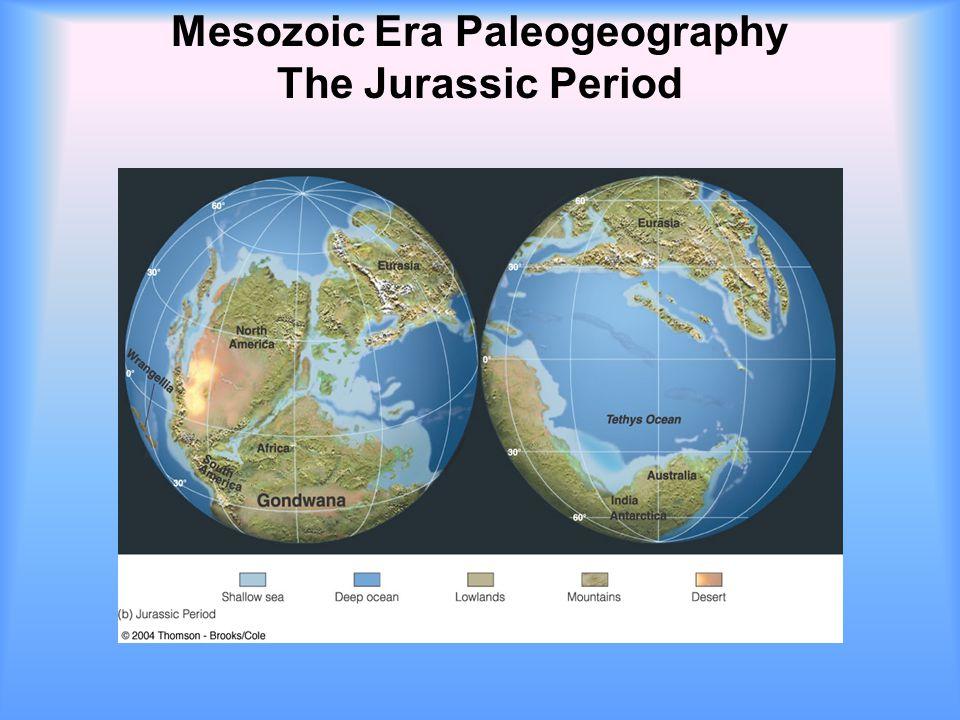 Mesozoic Era Paleogeography The Jurassic Period