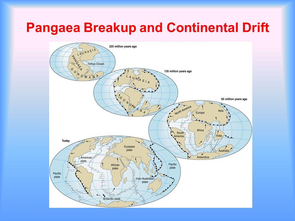 Pangaea Breakup and Continental Drift