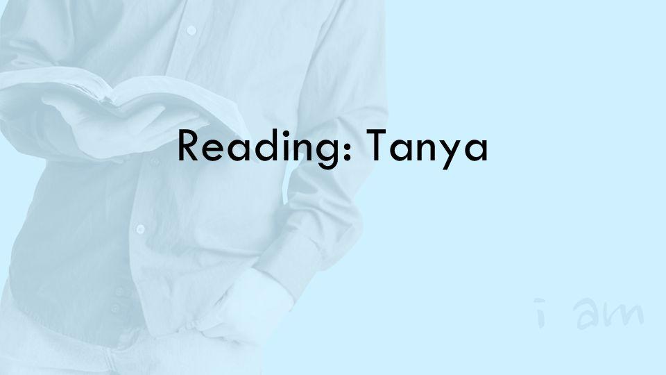 Reading: Tanya