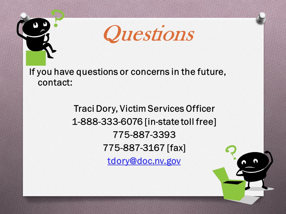Summary  Statute  Notifications  Hearings  Additional Services  VINE Helping Victims Through Teamwork