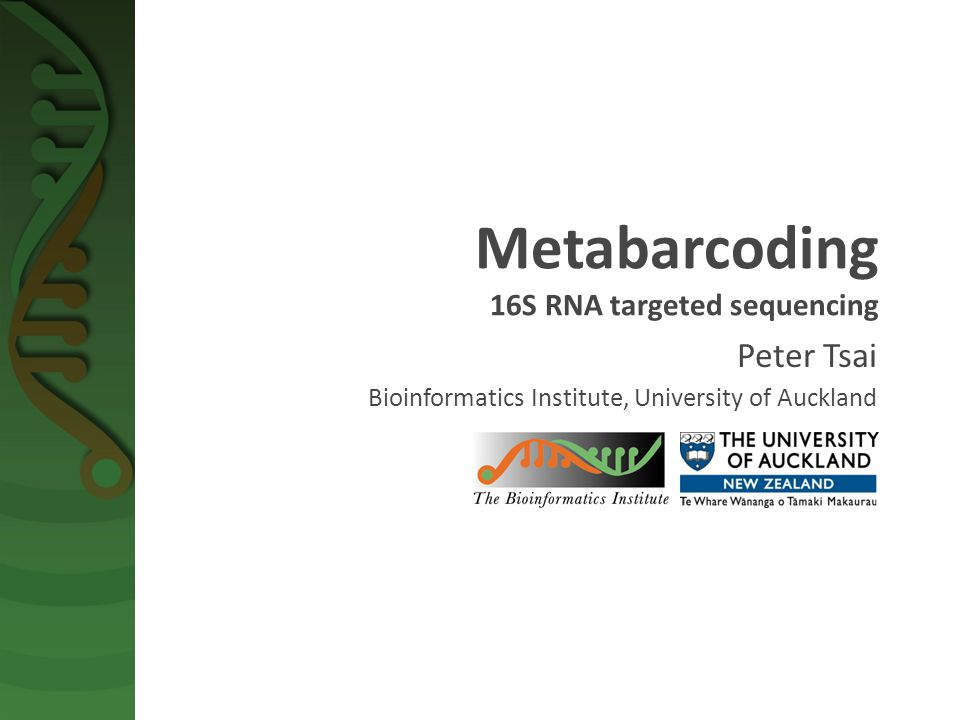  What's metagenomics and metabarcoding.