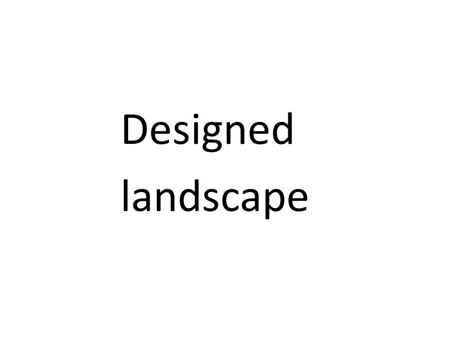 Designed landscape