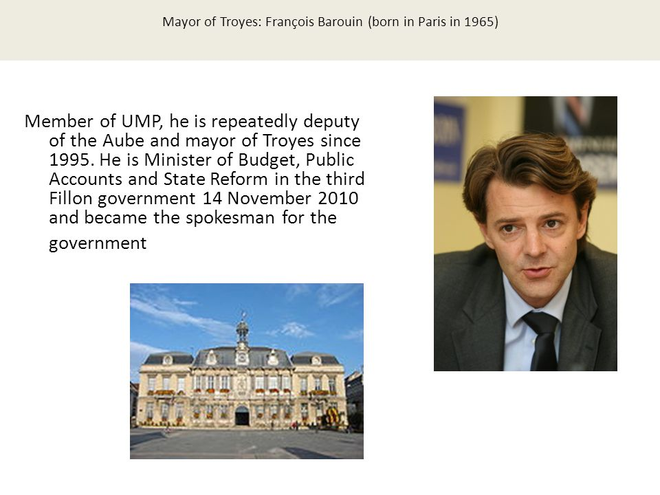 Politics Alkmaar Member of UMP, he is repeatedly deputy of the Aube and mayor of Troyes since 1995.