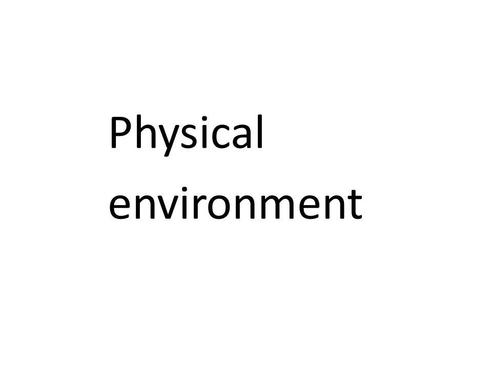 Physical environment