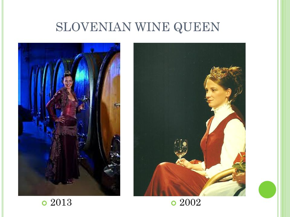 SLOVENIAN WINE QUEEN 20132002