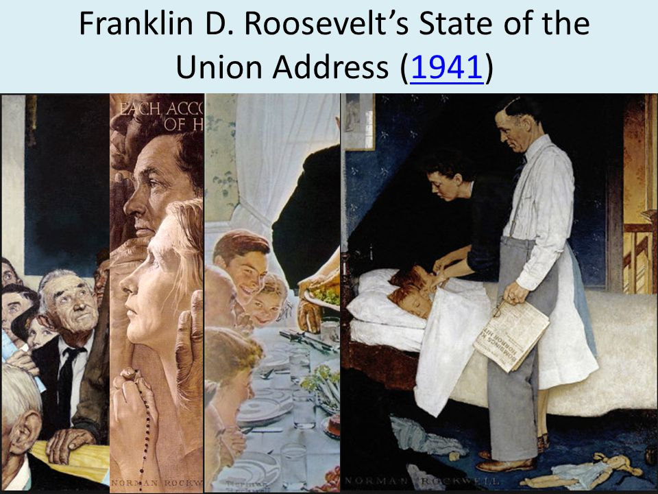 Franklin D. Roosevelt's State of the Union Address (1941)1941
