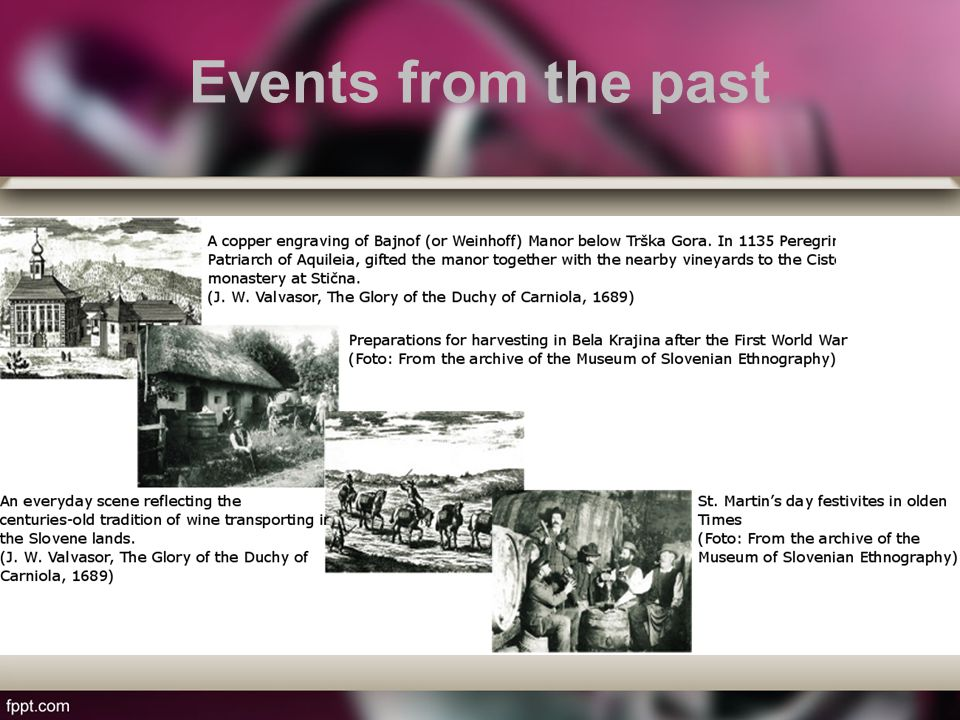 Events from the past