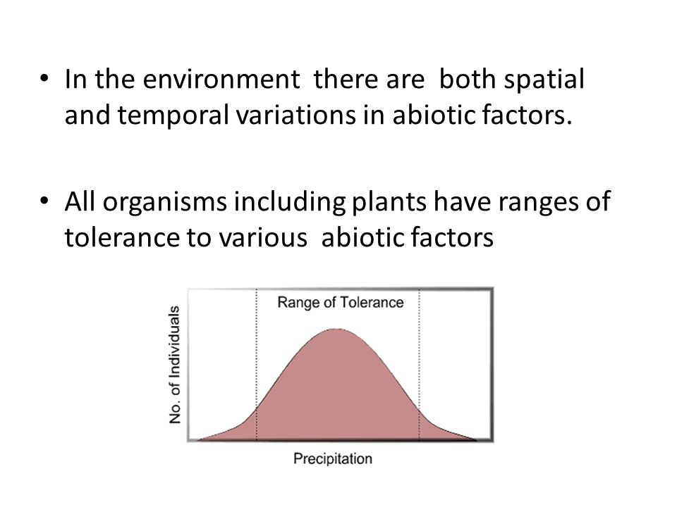 Because plants are sessile ( fixed in place) they are unable to escape unfavourable conditions and unable to move to areas of favourable conditions.