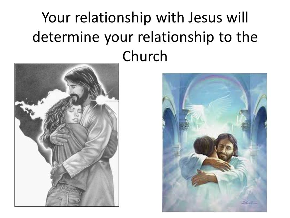 Your relationship with Jesus will determine your relationship to the Church