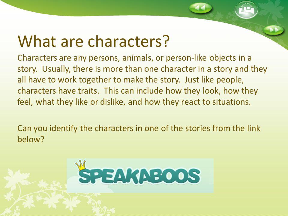 Bringing Characters to Life Great job.